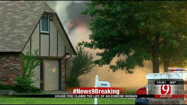 Woman Dies After Edmond House Fire