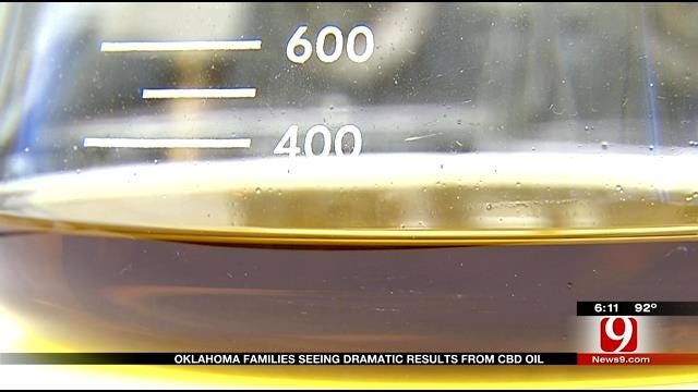 Families Say They See Dramatic Results From Cannabis Oil