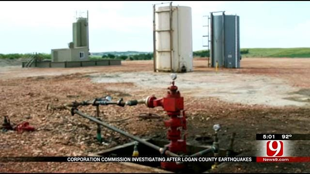 OK Corporation Commission, OGS Investigating Rash Of Earthquakes In Logan County