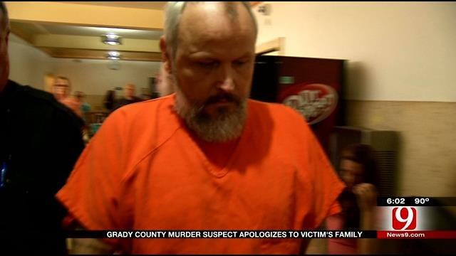 Accused Killer Apologizes At Arraignment