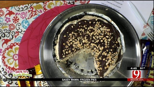 Mocha Toffee Pie