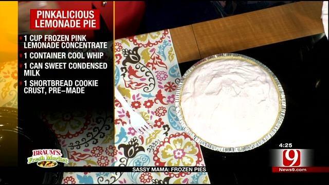 Pinkalicious Lemonade Pie