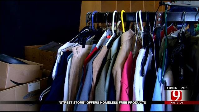 Jesus House's 'Street Store' Offers Relief For OKC's Homeless
