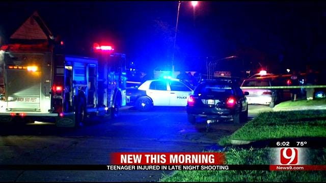 OKC Police: Male Victim Shot Multiple Times Near N.E. 49th & MLK