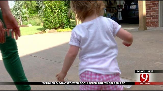 Edmond Toddler Gets E. Coli After Splash Pad Visit