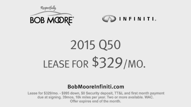 Bob Moore: Infiniti Q50