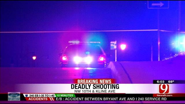 One Killed In Drive-By Shooting In Oklahoma City