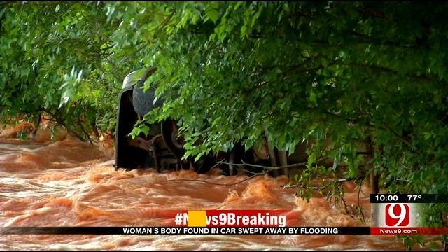 Woman's Body Found In Submerged Vehicle Near Tecumseh