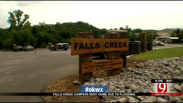 Falls Creek Releasing Campers Due To Flooding