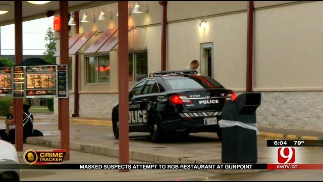 Masked Men Target OKC Restaurant In Attempted Robbery