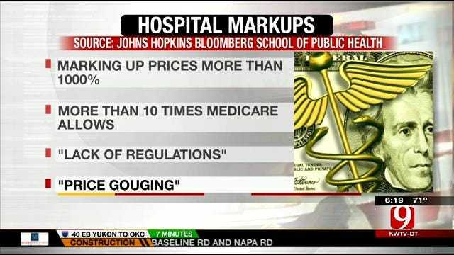 Study Suggests That U.S. Hospitals Are Price Gouging