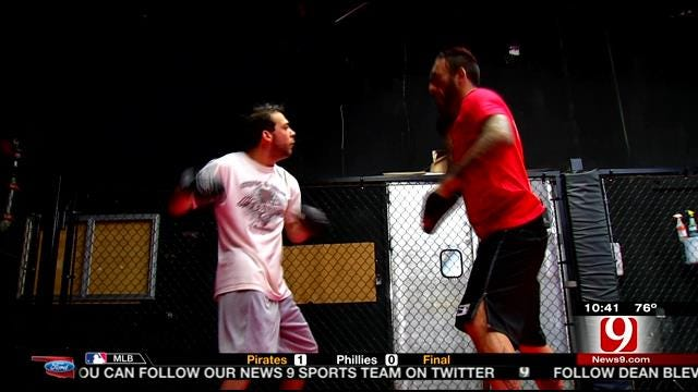 OKC Man Trains For Fight of His Life