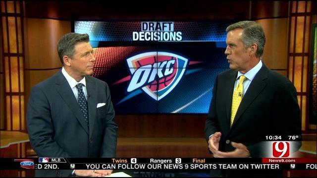 Thunder Draft Decisions