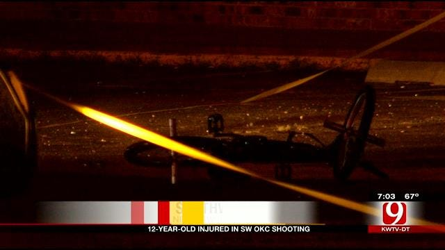 12-Year-Old Injured In SW OKC Shooting