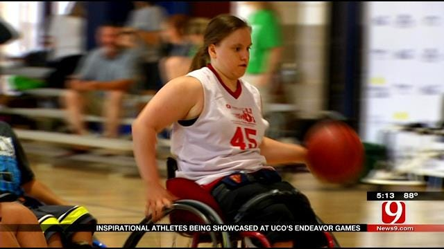 Inspirational Athletes Compete At UCO's Endeavor Games