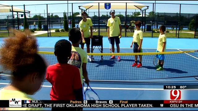 VIDEO: A Special Tennis Camp For Special Kids