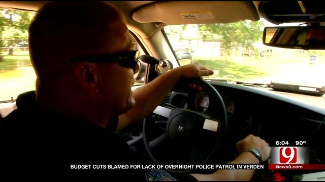 Budget Cuts Blamed For Lack Of Overnight Police Patrols In Verden