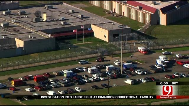 Investigation Into Large Brawl At Cimarron Correctional Facility