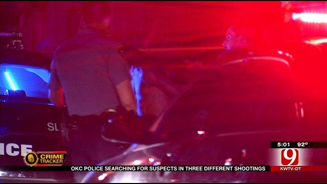 OKC Police Investigating Multiple Shooting Incidents