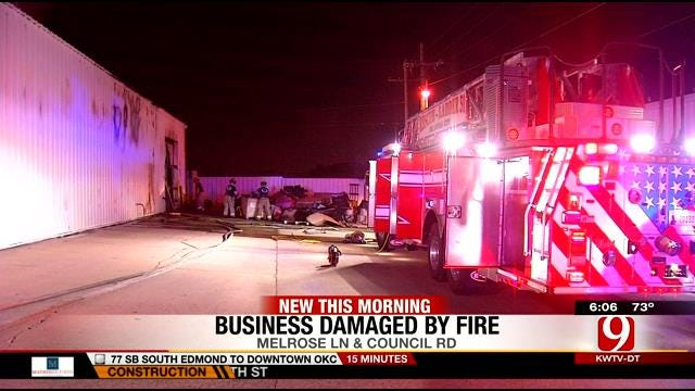 Authorities Investigate Cause Of Three Alarm Fire At OKC Business