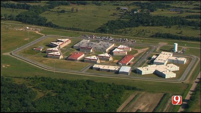 WEB EXTRA: SkyNews 9 Flies Over Cimarron Correctional Facility After Prison Riot