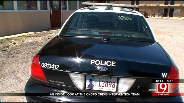 News 9 Rides Along With OCPD Crisis Intervention Team