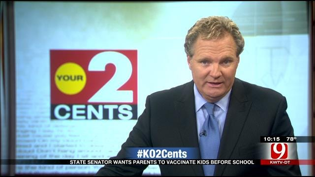 Your 2 Cents: Lawmaker Wants Parents To Vaccinate Kids Before School