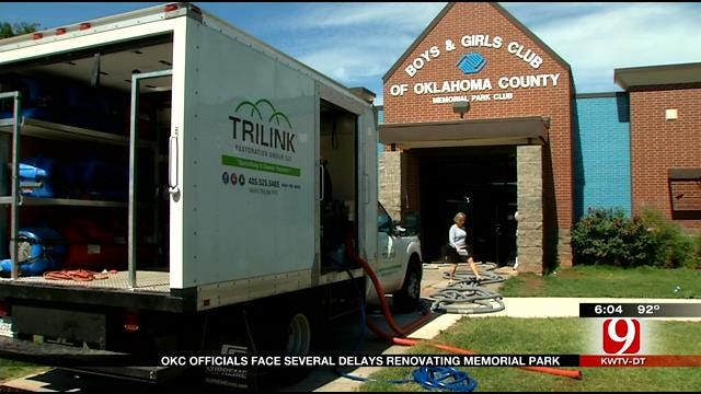 After Delays, Memorial Park In NW OKC To Re-Open In Two Months