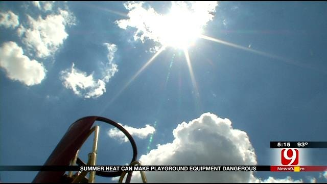 Medical Experts Warn About Hot Playground Equipment