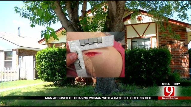 Moore Woman Lucky To Escape Hatchet Wielding Ex-Boyfriend