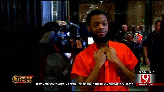 Testimony Continues In Retrial Of Suspect In Reliable Pharmacy Shooting