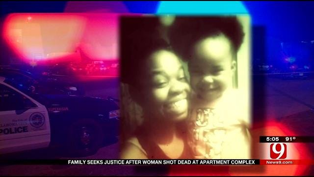 Mother Gunned Down While Sitting Outside NW OKC Apartments
