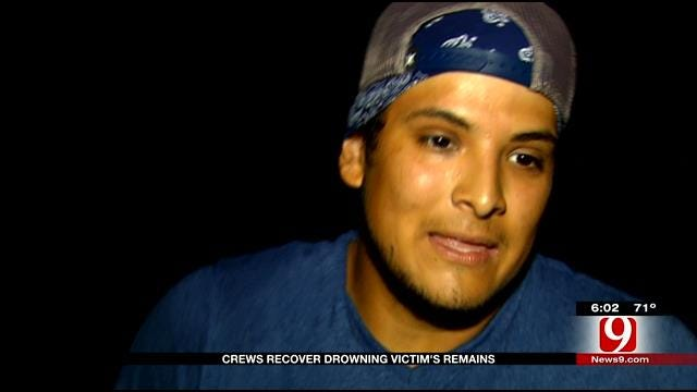 Crews Recover Body From SE OKC Pond, Family Member Speaks Out
