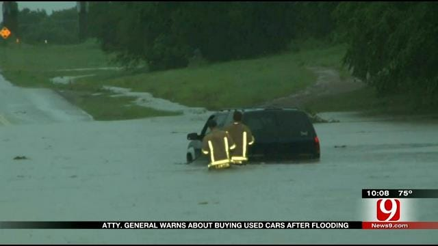 Warning For Consumers About Flooded Vehicles For Sale