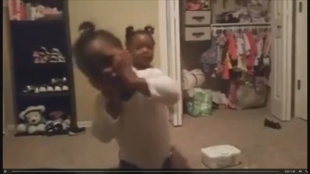 Edmond Toddler's 'Happy and You Know It' Dance In Full