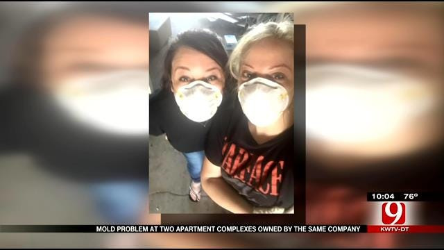 Mold Problem At Norman Apartment Complex, One Tenant Taking Legal Action