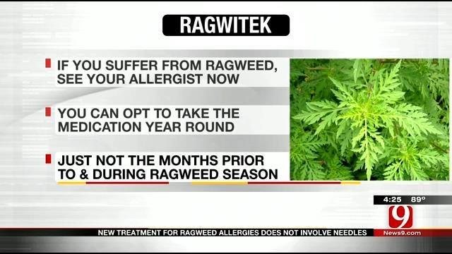 Medical Minute: Ragweed Treatment