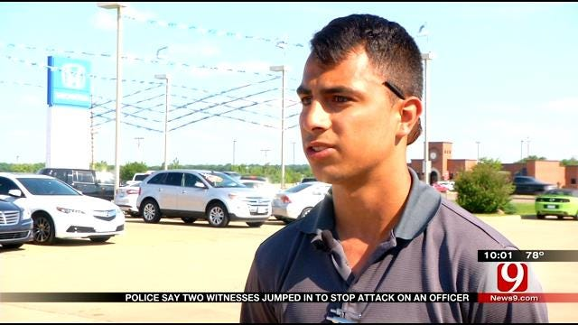 Police Say Two Witnesses Jumped In To Stop Attack On Stillwater Officer