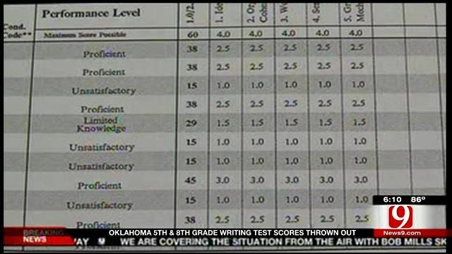 More Problems, Second Year State Writing Tests Called Unreliable
