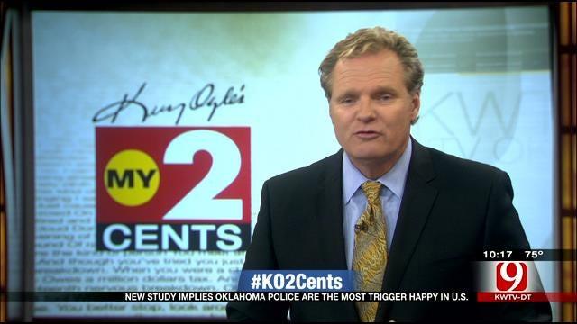 My 2 Cents: Oklahoma Tops Trigger-Happy Police List