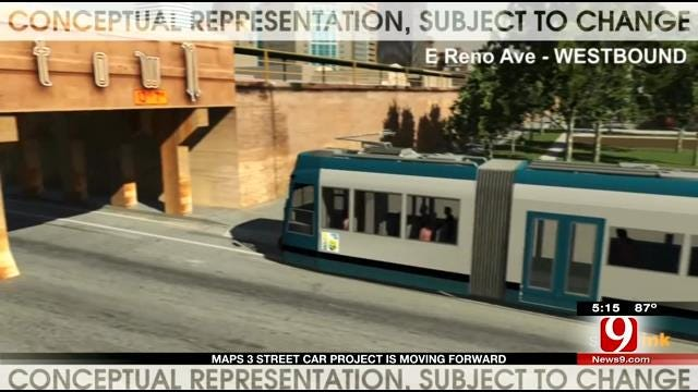 MAPS 3 Streetcar Project Moves Forward