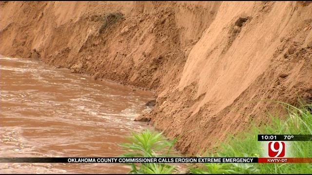 Choctaw Mayor Calls River Erosion An Extreme Emergency