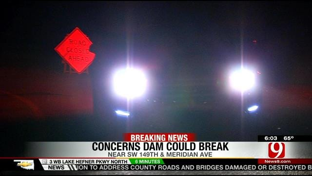 Concerns Over Dam Prompt Evacuation Of SW OKC Neighborhood