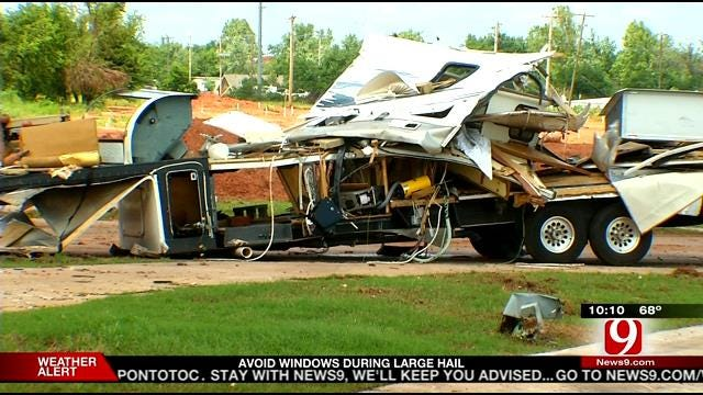 Looting Becomes A Problem At RV Park Hit By Tornado