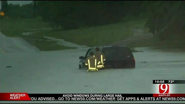 Flash Flooding Creates Problems Across Lawton
