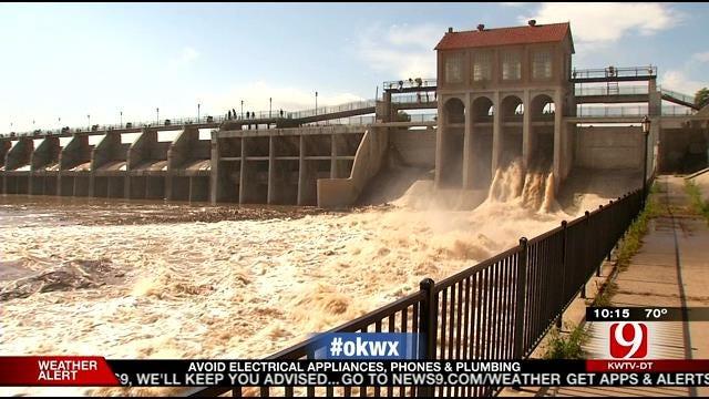 Flooding Creates Concern Over Lake Overholser Dam