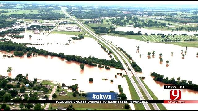 Purcell Tire Shop And Home Flooded, Couple Displaced