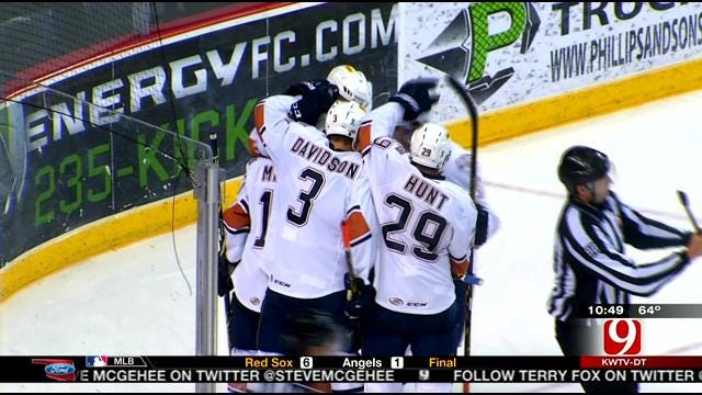 OKC Barons Finish Run in Oklahoma