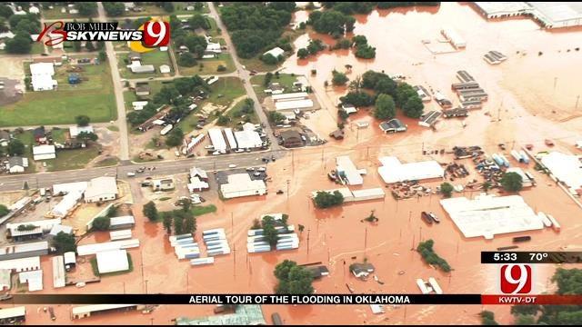 Residents Assess Damage Following Flooding In Lexington