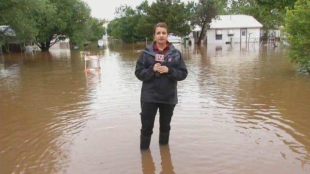 WEB EXTRA: Neighborhoods Flooded In Lexington